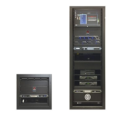 Audio visual racks are designed for easy operation