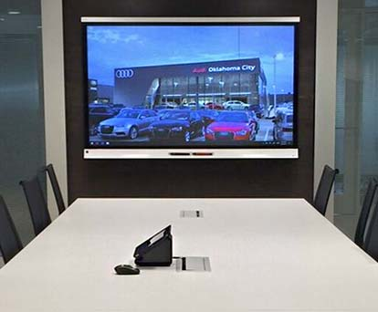 Audio visual and control systems for OKC corporate and conference rooms