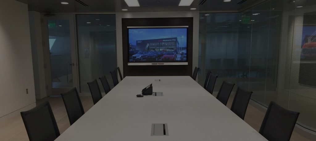 Audio visual smart systems for conference rooms OKC Edmond