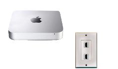 Dedicated PC or Mac and wall jack