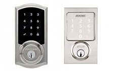 smart home automation device touchscreen smart lock