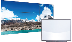 video wall and interactive smart board