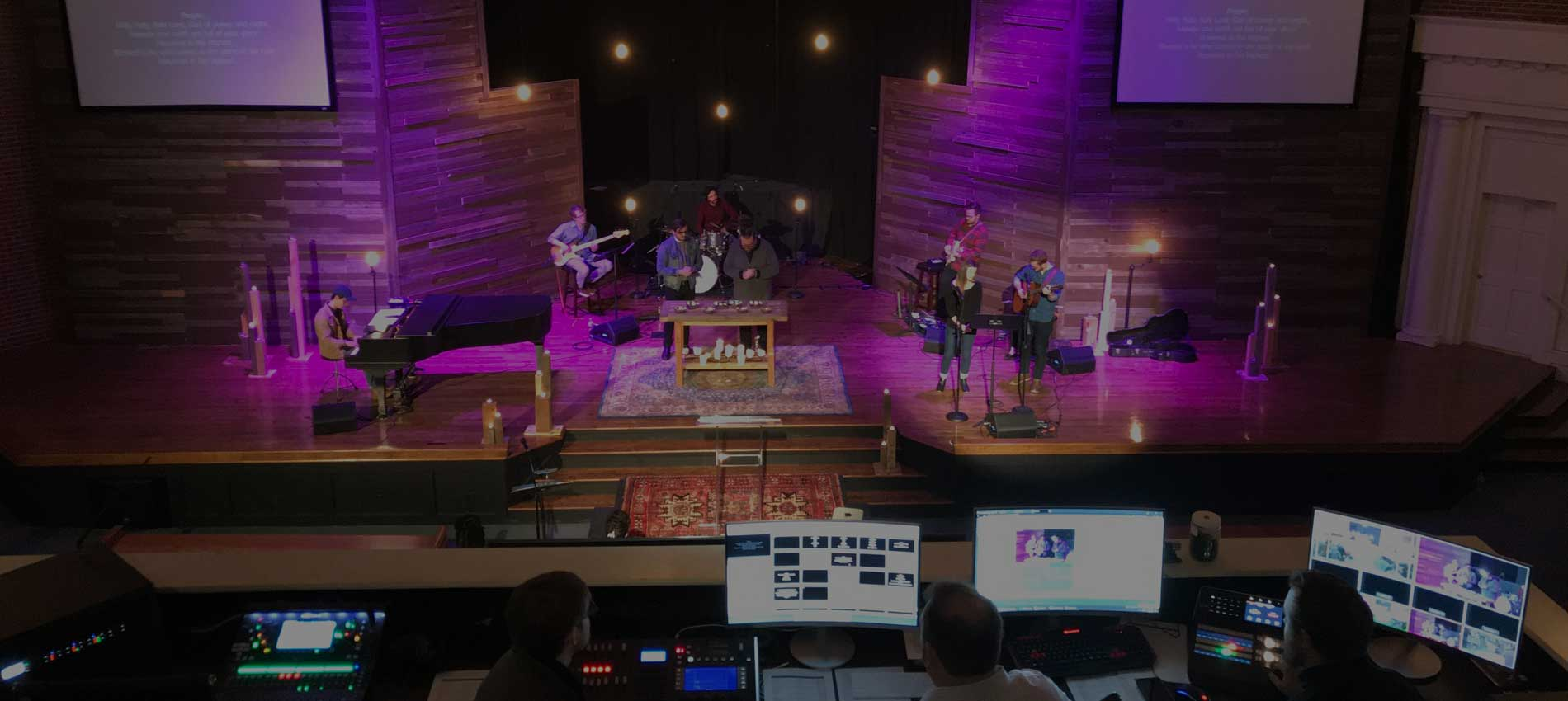 Audio Visual Production Systems for Churches Oklahoma City Edmond Tulsa