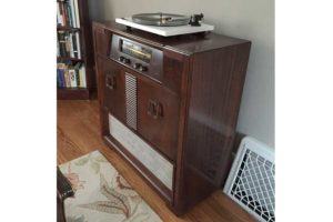 Retrofitted Audio Console for residential homes