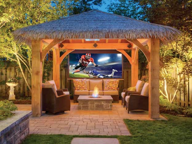 Image of outdoor audio visual and control systems services by Vox Audio Visual Elite Services