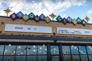Banquet Cinema audio installation by Vox Audi Visual
