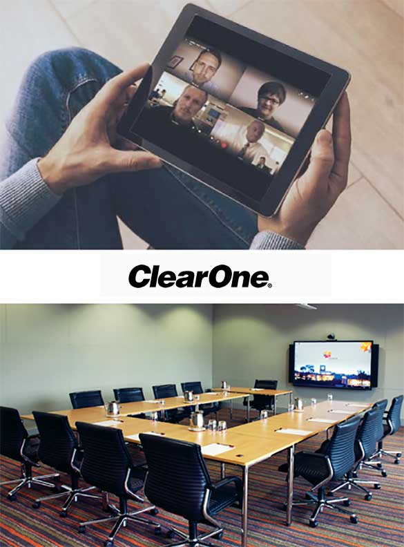 image of partnering with leading technology company clearone