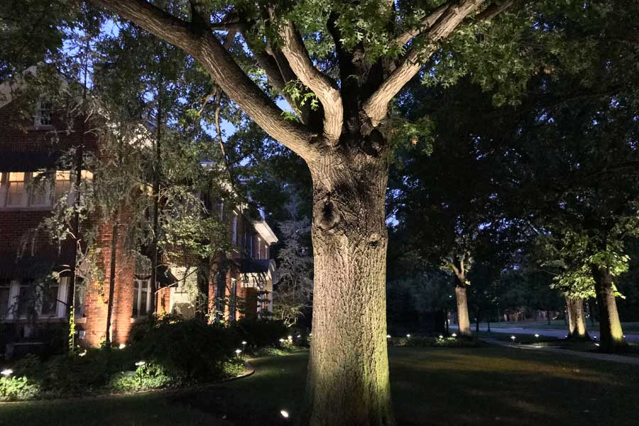 outdoor lighting design and installation for Oklahoma City and surrounding areas